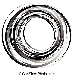 Abstract spirally element. Spinning, vortex graphic....