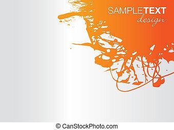 splash background - abstract splash background