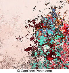 Abstract splashes background