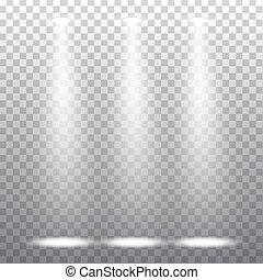 Abstract spotlight effect
