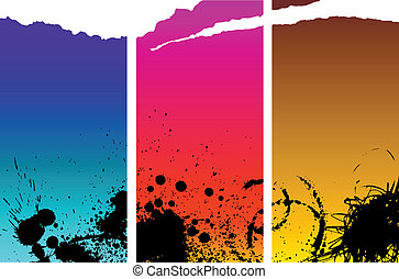 Abstract spotted background with place for your text