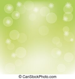 Abstract spring background, vector illustration