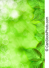 abstract spring backgrounds with beautiful bokeh