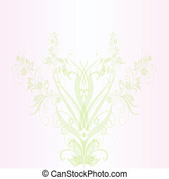Abstract spring floral