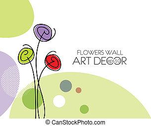 spring flower background - abstract spring flower background...