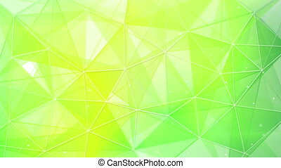 abstract spring geometrical background loop