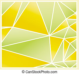abstract spring polygon background