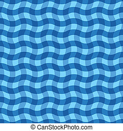Abstract squared blue background