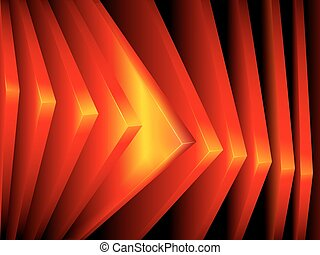 Abstract squares vector background