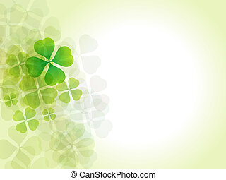 abstract st patrick background vector illustration