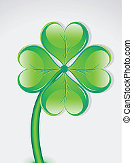 abstract st patrick day vecotr illustration