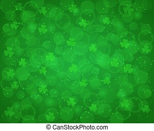 Abstract St Patricks day background - Abstract St Patrick's...