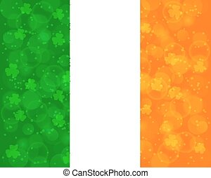 Abstract St Patrick's day background
