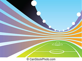 abstract stadion background