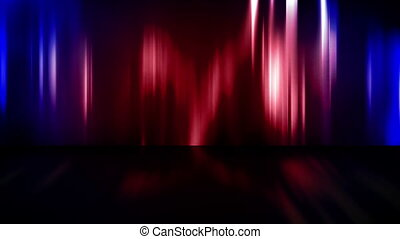 Abstract Stage Curtains Loop