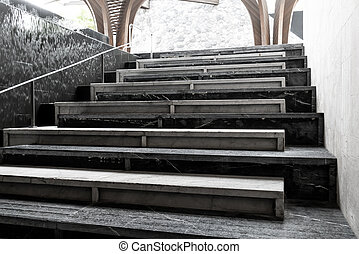Abstract stairs step