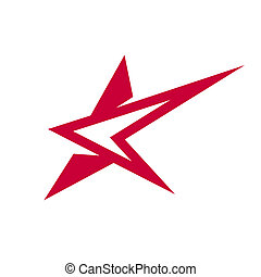 Abstract star sign - Branding identity corporate logo...