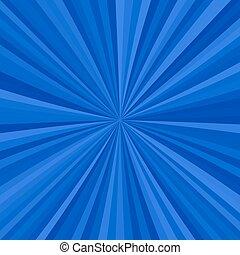 abstract, starburst, achtergrond, van, radiaal, strepen