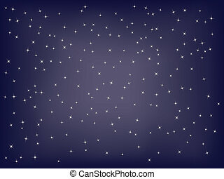 abstract starry background vector illustration
