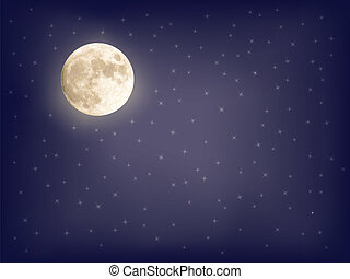background with full moon