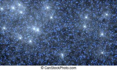 abstract stars sky