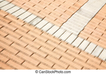 abstract step brick in and texture background