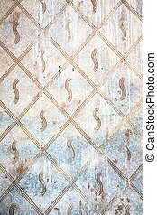abstract step brick in material the background