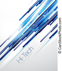 Blue abstract straight lines background