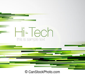 Abstract straight lines background - Green straight lines...