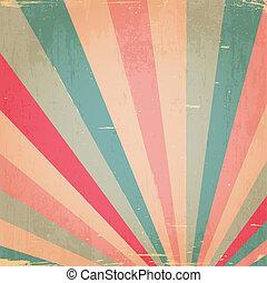 abstract, stralen, grunge, kleurrijke, achtergrond
