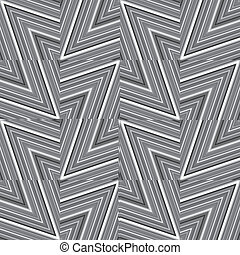 Abstract striped background in black and white