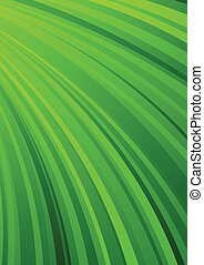 Abstract striped background in green color