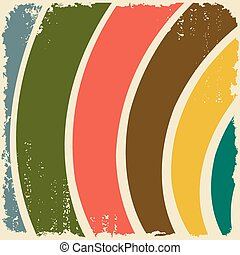 Abstract striped grunge background.