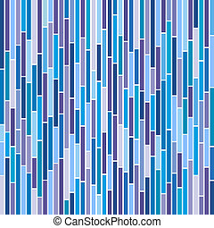 Abstract Stripes in Cool Colours - Abstract vertical stripes...