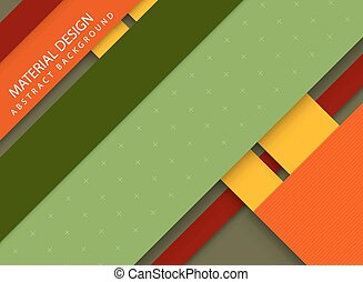 Abstract stripped background - material design style