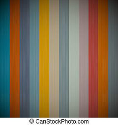 Abstract Strips, Retro Vector Background