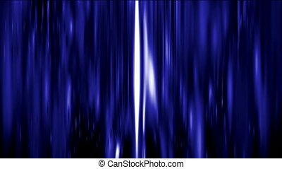 Abstract strokes of blue light