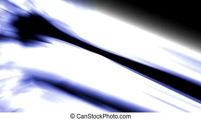 strokes of blue light, laser