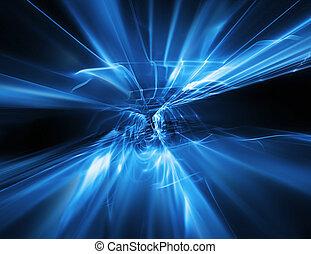 abstract, stroom, van, energie