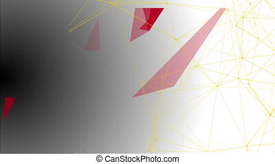 Abstract Structural Fragments 8 - Abstract background with...