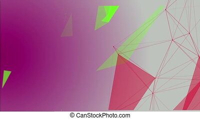 Abstract Structural Fragments 9 - Abstract background with...