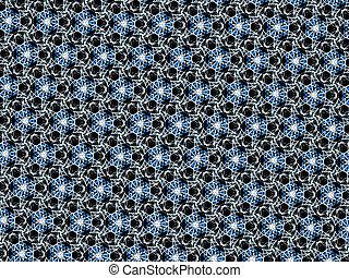 Abstract style pattern - symmetry shape pattern background