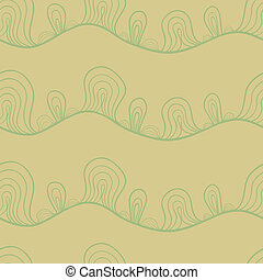 Abstract stylized seamless pattern