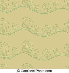 Abstract stylized seamless pattern