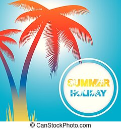 Abstract summer background. vector10