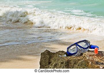 Abstract Summer Sea Beach Theme