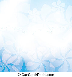Abstract summer spring background with flowers