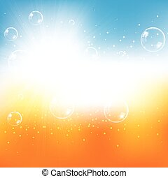 Abstract summer spring design background