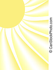 abstract sun - abstract image that could be a sun with...