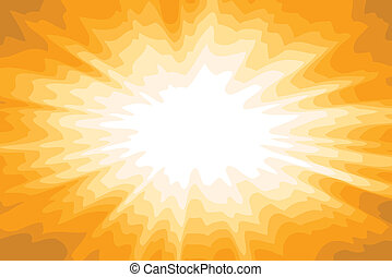 abstract sun background